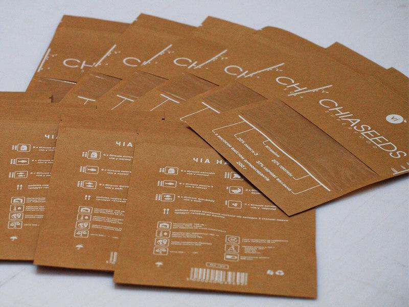Упаковка для семян Чиа