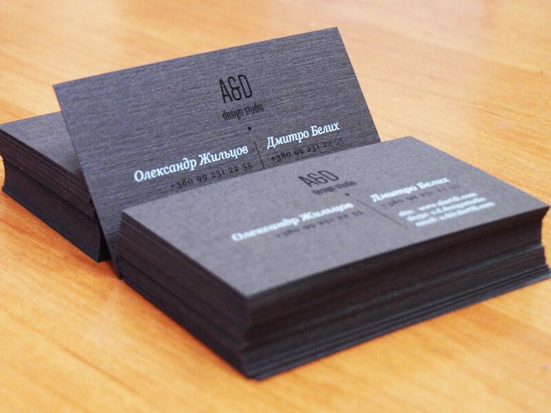 Шелкотрафаретная печать на дизайнерском картоне